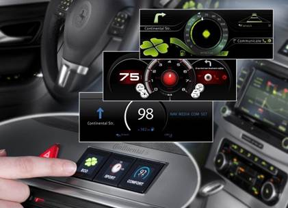 Continental Auto HMI Designs