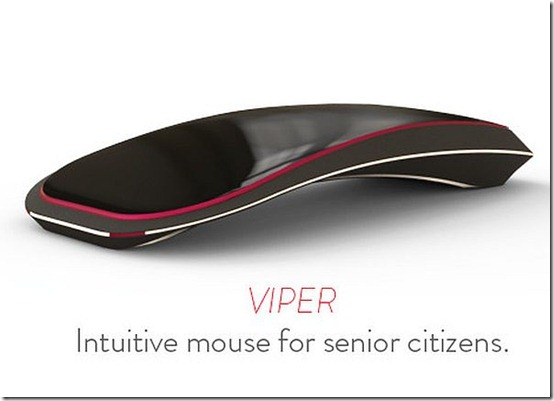 Innovative Interactive Touch Mouse Viper