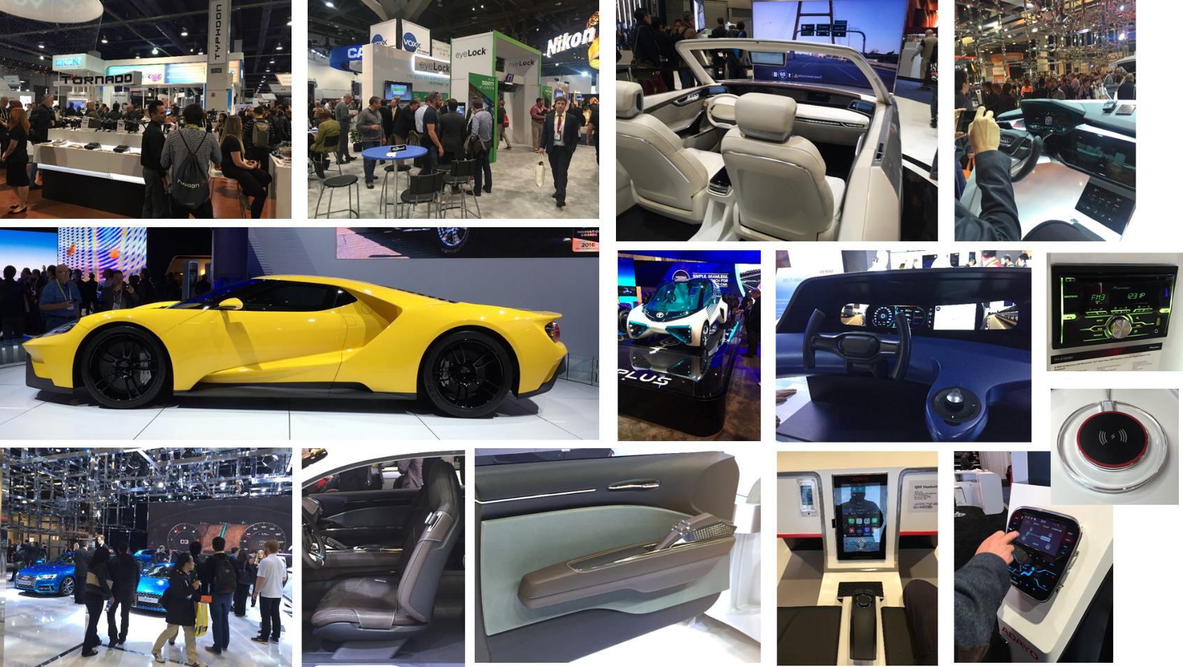 2016 CES HMI Innovations Report Out