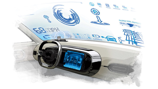 Quick Look at 2016 Luxury car & HMI Technology Innovation