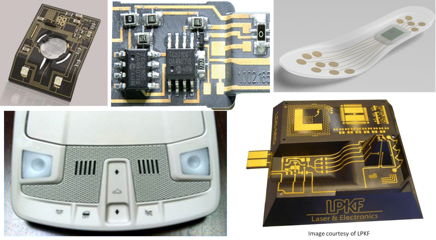 Design Hmi Flexible Hybrid Electronics Mount Printed Circuit Boards In Addition To Performing Mounting The Challenge Has Been Need For A Heat Sink Transfer Away From Leds Coupled With Board Mounted