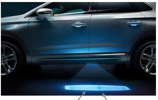 Automotive Welcome Light Design Concepts